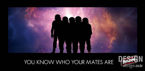 you know who your mates are