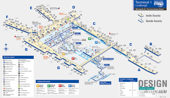 Map Of Car Rental Companies At Dtw Airport