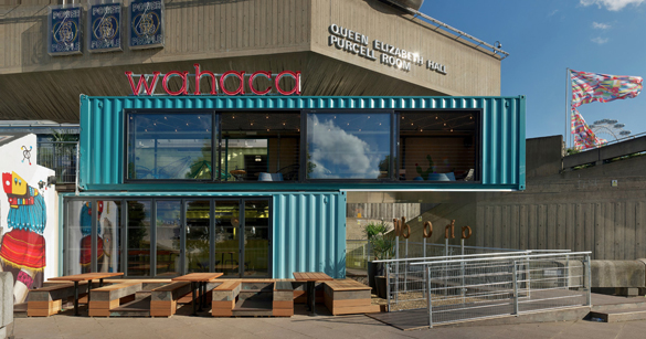 Design - Wahaca shipping container restaurant ...